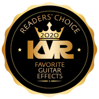 Favorite Guitar Virtual Effect Processor - Best Audio and MIDI Software - KVR Audio Readers' Choice Awards 2020