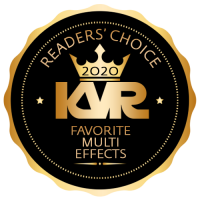 Favorite Multi FX Virtual Effect Processor - Best Audio and MIDI Software - KVR Audio Readers' Choice Awards 2020