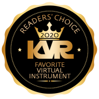 Favorite Virtual Instrument - Best Audio and MIDI Software - KVR Audio Readers' Choice Awards 2020