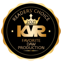 Favorite DAW For Production - Best Audio and MIDI Software - KVR Audio Readers' Choice Awards 2021