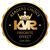 Favorite Virtual Effect Processor - Best Audio and MIDI Software - KVR Audio Readers' Choice Awards 2021