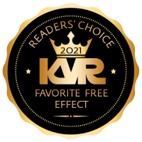 Favorite Free Virtual Effect Processor - Best Audio and MIDI Software - KVR Audio Readers' Choice Awards 2021