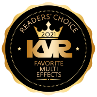 Favorite Multi FX Virtual Effect Processor - Best Audio and MIDI Software - KVR Audio Readers' Choice Awards 2021