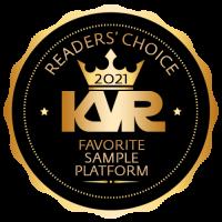 Favorite Sample Platform - Best Audio and MIDI Software - KVR Audio Readers' Choice Awards 2021
