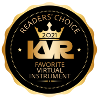 Favorite Virtual Instrument - Best Audio and MIDI Software - KVR Audio Readers' Choice Awards 2021