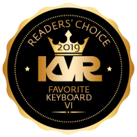 Favorite Keyboard Virtual Instrument - KVR Audio Readers' Choice Awards 2019