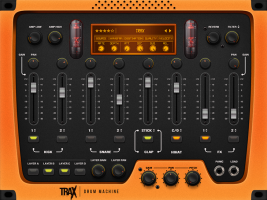TRAX drum machine