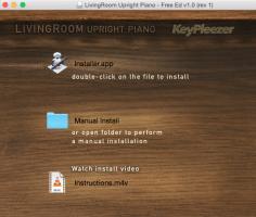 LivingRoom Upright Piano - Free Edition