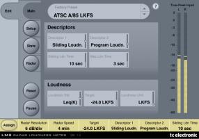 LM2 Radar Loudness Meter