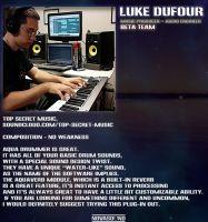 Nova Drum Unit: Aquatic Drummer