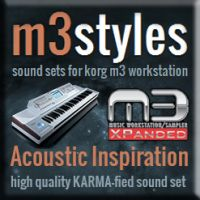 Acoustic Inspiration Karma-fied Sound Set for Korg M3