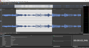 Sound Forge Pro Editing