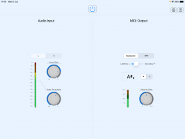 A2M real-time Audio to MIDI