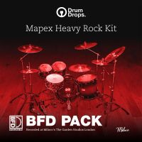 Mapex Heavy Rock Kit - BFD Pack