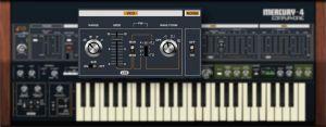 Mercury-4 Polyphonic Synthesizer