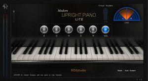 modern upright piano lite