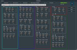 MOLOSS I Voice Parameters