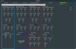 MOLOSS I Voice Mod Parameters