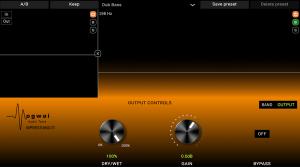 MPRESS-MULTI output controls