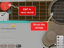ZAP Guitar - No Strings Attached