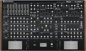 Novation PEAK and SUMMIT Editor - VST and Standalone