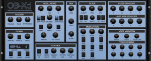 Obxd - Virtual Analog Synthesizer