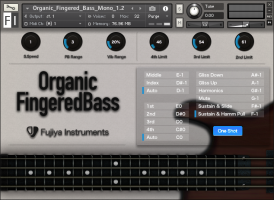 Organic Fingered Bass
