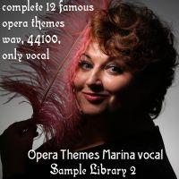 Opera Themes Marina vocal sample library vol 2