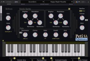 Peti SA Harmonium/Accordion