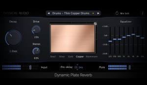 Dynamic Plate Reverb
