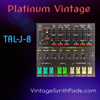 Platinum Vintage Presets For TAL-J-8