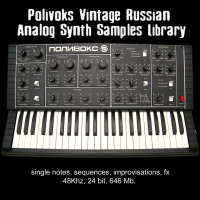 Polivoks Analog Vintage Soviet Synth Sample Library vol 1