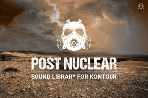 Post Nuclear - sound library for Native Instruments Kontour