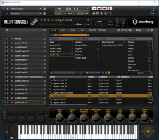 Synth W - Instrument presets