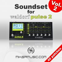 miksamusic Soundset for Waldorf Pulse 2 - Vol.2 (40 patches)