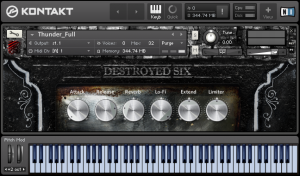 Destroyed Six - Cinematic Detuned Pianos