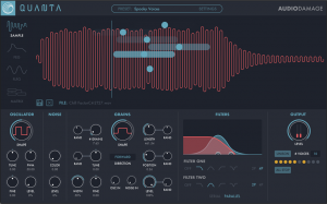 Audio Damage releases Quanta Granular Synthesizer for Mac Win