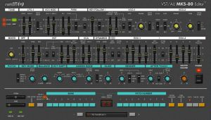 VST-AU MKS-80 Editor