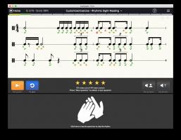 EarMaster - rhythmic sight-reading