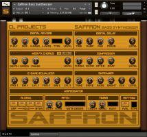 Saffron Bass Synthesizer