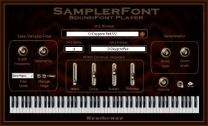 SamplerFont SoundFont Player