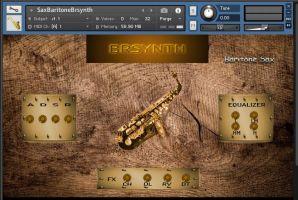 Sax Baritone Brsynth