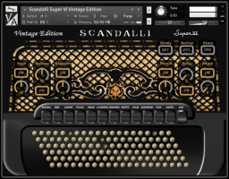 Scandalli Super 6 Vintage Edition