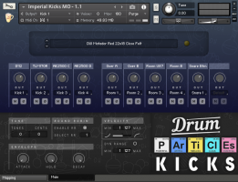 Drum Particles Collection For Kontakt