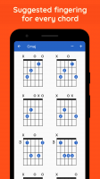Includes suggested finger positions for every chord