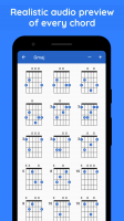 Tap to listen to audio demo of the chord at any position
