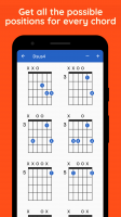 Get all the possible positions for every chord