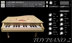 The Stupidly Huge Toy Piano & Friends