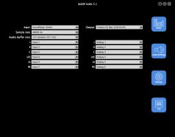 ALMx 5.1 - Audio Settings