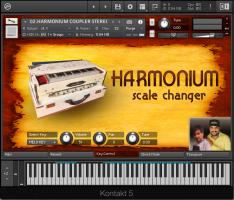 Harmonium Scale Changer